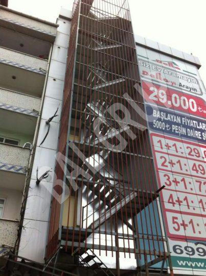 Esenyurt Yangın Merdiveni